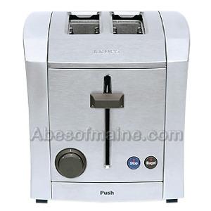 DigiLake - KRUPS TT9300 2-Slice Toaster Stainless Die Cast TT9300